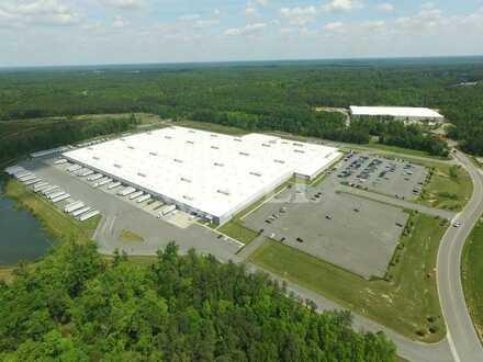 Logistikflächen mit Rampen | Hochregal- + Lagerhallen | mit WGK + 24/7