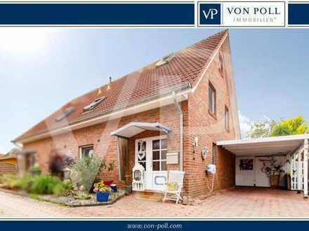 Top gepflegte Doppelhaushälfte in Emden Petkum