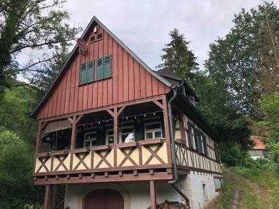 Liebhaberobjekt - Schönes Fachwerkhaus mit drei Zimmern bei Schwäbisch Hall (Kreis), Wolpertshausen