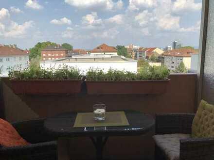 Exklusives Penthaus in MA / Neckarstadt-Ost