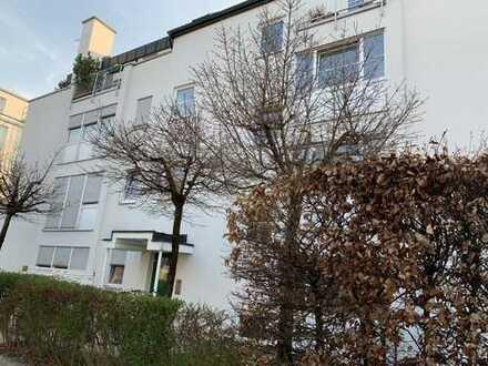 Wohnen Nähe Ostpark! 3- Zimmer Wohlfühl-Wohnung mit schönem Garten in absolut zentraler Lage Ramers