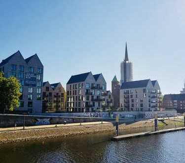 Stephanitor - Neubauwohnung mit tollem Weserblick