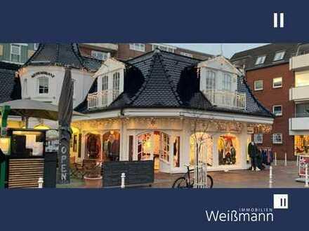 Ladenlokal (aktuell Mode) mit sehr guter Schaufenster-Front in begehrter 1A Lage von Westerland
