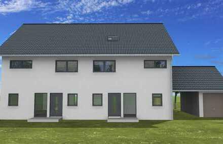 Neubau DHH auf großzügigem Grundstück in Plattling | Freie Planung | Provisionsfrei