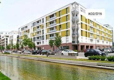 *Vermittlung NUR an Studenten* 2-Zimmer-Wohnung mit EBK und Balkon zum 01.04.2019