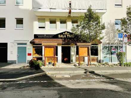 Restaurant in Würzburg/Sanderau ca. 140 Sitzplätze und ca.100 Kostenfreien Parkplätze am Main 2 min
