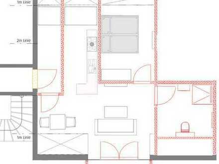 Helle und gemütliche 1,5 Zimmer DG Wohnung mit Balkon