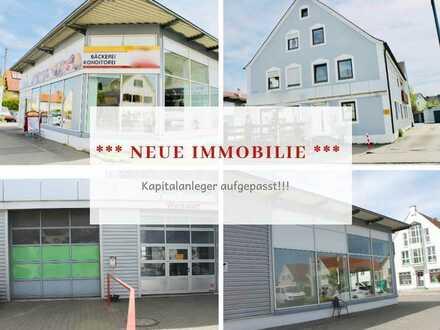 Kapitalanleger aufgepasst! Renditeobjekt sowohl mit Gewerbe- als auch Wohneinheiten in Thannhausen
