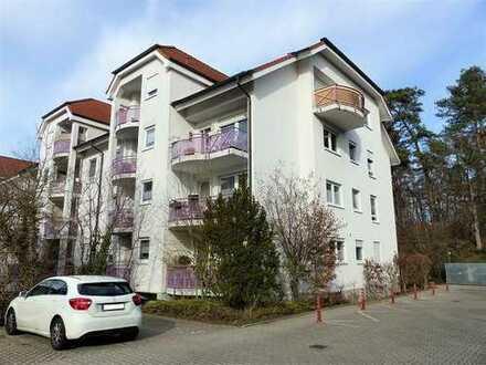 Solide Kapitalanlage - sehr gut vermietete 1-Zimmer-Wohnung mit Balkon und Tiefgaragenstellplatz