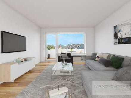Gepflegte 2-Raum Wohnung mit Balkon in Essen-Überruhr
