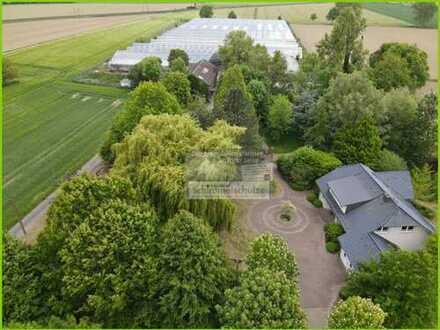 Wohnen und Arbeiten im Grünen! Gartenbaubetrieb mit ca. 3,27 ha Fläche