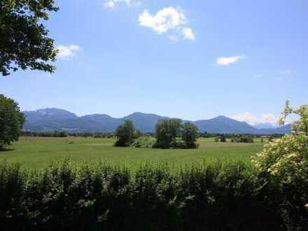 Traum-Kulisse!! Landhaus mit unverbaubarem Alpen- und Wiesenblick bei Penzberg