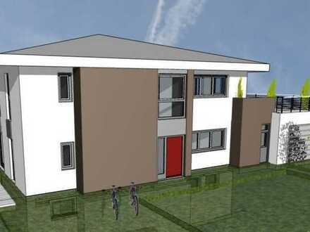 Erstbezug: attraktive 5-Zimmer-Erdgeschosswohnung mit Einbauküche, Terrasse und Garten in Achstetten