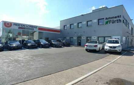Autoverkaufsplatz mit Büro in Top Lage!! Gewerbegebiet Fürth-Weikershof