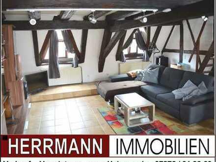 +++ Großzügige 5-Zimmer-Maisonettenwohnung in guter Zentrumlage von Bergzabern +++