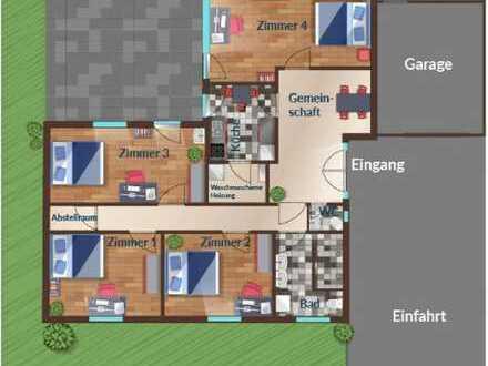 Möbliertes Zimmer in Netter 4er WG