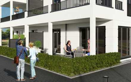 Barrierefreie Wohnungen in Rumeln - Kaldenhausen!!große Süd- Terrasse mit Garten!!