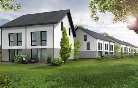 KfW 55 Doppelhaushälfte für JUNG und ALT mit großem Garten!