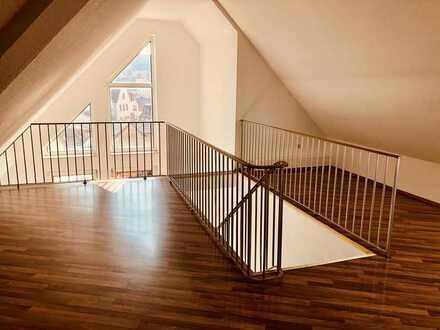 Gallerie-Wohnung mit einem sehr schönen Blick