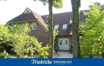 Attraktive, modernisierte Obergeschosswohnung mit Balkon in Bad Zwischenahn/Kurgebietslage