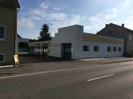 Provosionsfreie Autoverkaufsplatz mit Büro und Werkstatt in Bad Friedrichshall