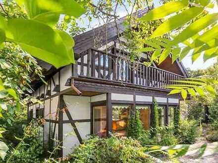 Gemütliches Fachwerkhaus mit verwunschenem Garten!