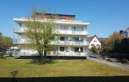 helle, geräumige 2-Zimmer Wohnung mit schönem Balkon an der alten Heide