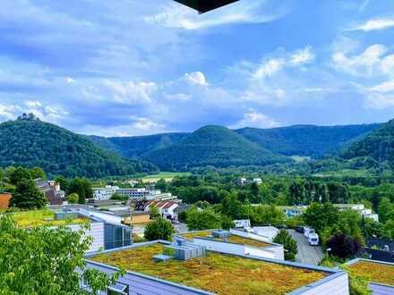 Exklusive 2-Zimmer-Wohnung mit Balkon und Einbauküche in Bad Urach