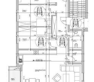 Helle Topwohnung mit 2 Balkonen / Erstbezug