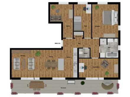 Erstbezug- 5 Zimmer Wohnung in fussläufiger Entfernung zum See und Altstadt