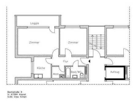 sehr schön helle 2- Zimmer- Wohnung zu vermieten