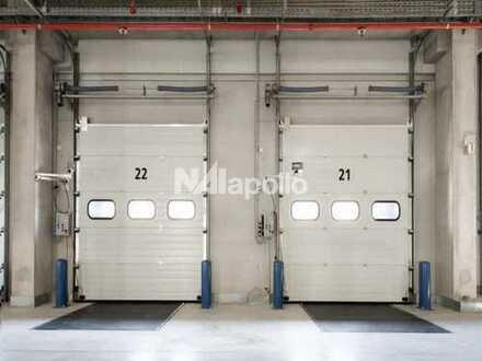 Temperierte Logistikfläche mit 29 Rampentoren in verkehrsgünstiger Lage zu verkaufen