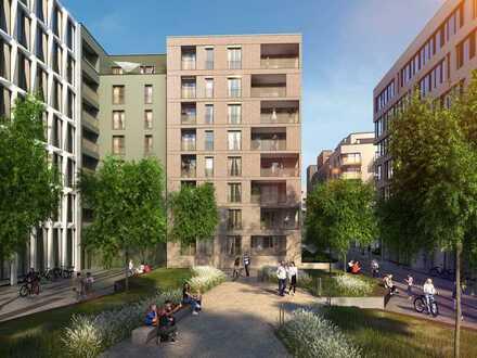 Moderne 1-Zimmer-Wohnung mit Süd-Ost-Terrasse in zentraler Lage!