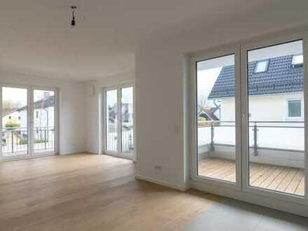 -ERSTBEZUG- Helle 2,5 Zimmer-Wohnung mit zwei Sonnenterrassen