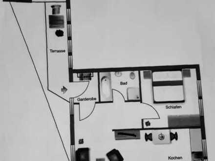Geräumige Zweizimmerwohnung im Stadtzentrum