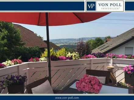 Gepflegtes Einfamilienhaus mit Einliegerwohnung mit herrlichem Weitblick - Nähe Limburg