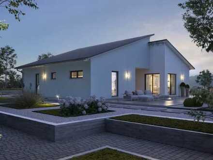 Moderner Bungalow auf einem wunderschönen Baugrundstück
