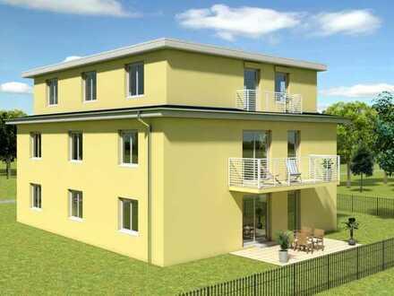Bauvorhaben - Attraktive 4-Zimmerwohnung mit Südbalkon im 1. Obergeschoß