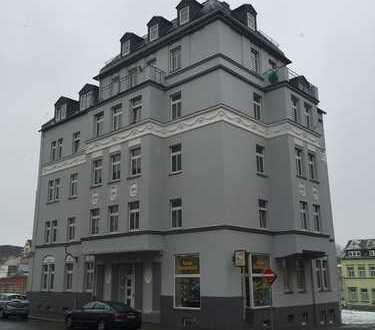 PLAUEN: Auguststraße: PROVISIONSFREIER VERKAUF: Vermietete 2-Zimmer-Whg. mit Küche, Bad und Balkon