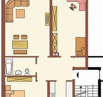 Helle Nichtraucher Wohnung in ruhiger Lage