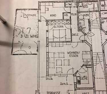 Schöne und ruhige drei Zimmer Wohnung in Heilbronn (Kreis), Bad Friedrichshall-Kochendorf