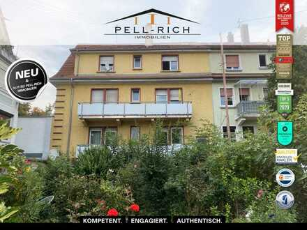 FLEXIBILITÄT HOCH 4: Leerstehendes vier-Parteien Haus in gefragter Lage von Karlsruhe-Durlach