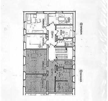 Klein, aber fein: Unvermietete 3-Zimmer-Wohnung mit EBK in Würzburg-Frauenland
