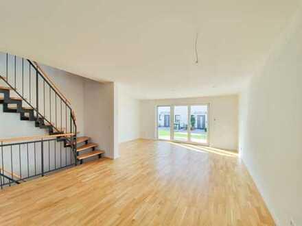 Nürnberg- Großgründlach! REH Neubau Erstbezug ca.135 m² Wfl., Parkett, Fußbodenheizung, Garten
