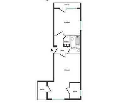 Gemütliche 2 Zimmerwohnung in Staufen zu verkaufen