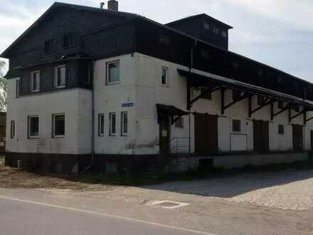 Sanierungsbedürftiges Gewerbeobjekt in Burkau zu verkaufen