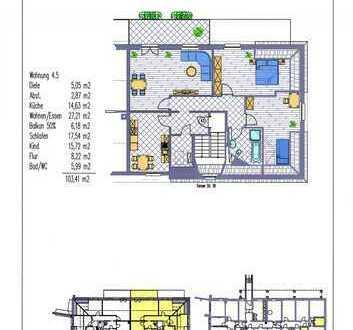 3-Zim.-DG-Whng. mit großem Balkon in attraktiver kleiner Wohnanlage