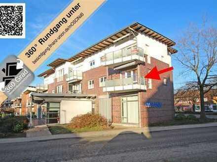 Nordhorn-Blanke: Helle 3-Zimmer-Eigentumswohnung mit Balkon und Stellplatz.