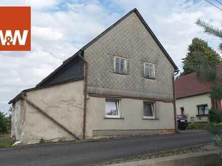 Wohnhaus mit großem Grundstück in Beiersdorf