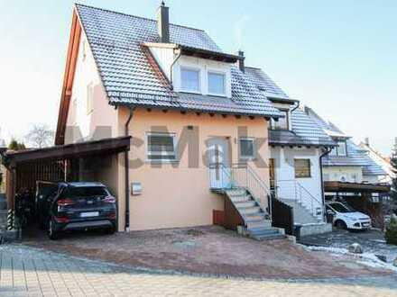 Modernes Familienidyll: Gepflegte 5-Zi.-DHH, Garten und naturnahe Wohnlage